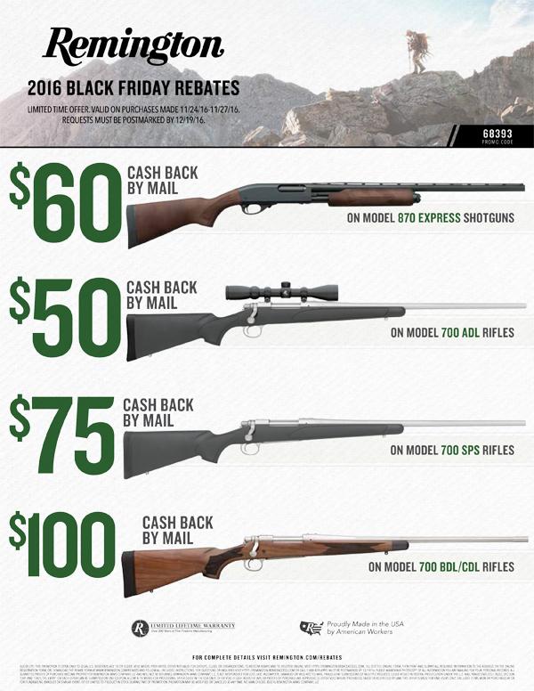 Remington Black Friday Rebate