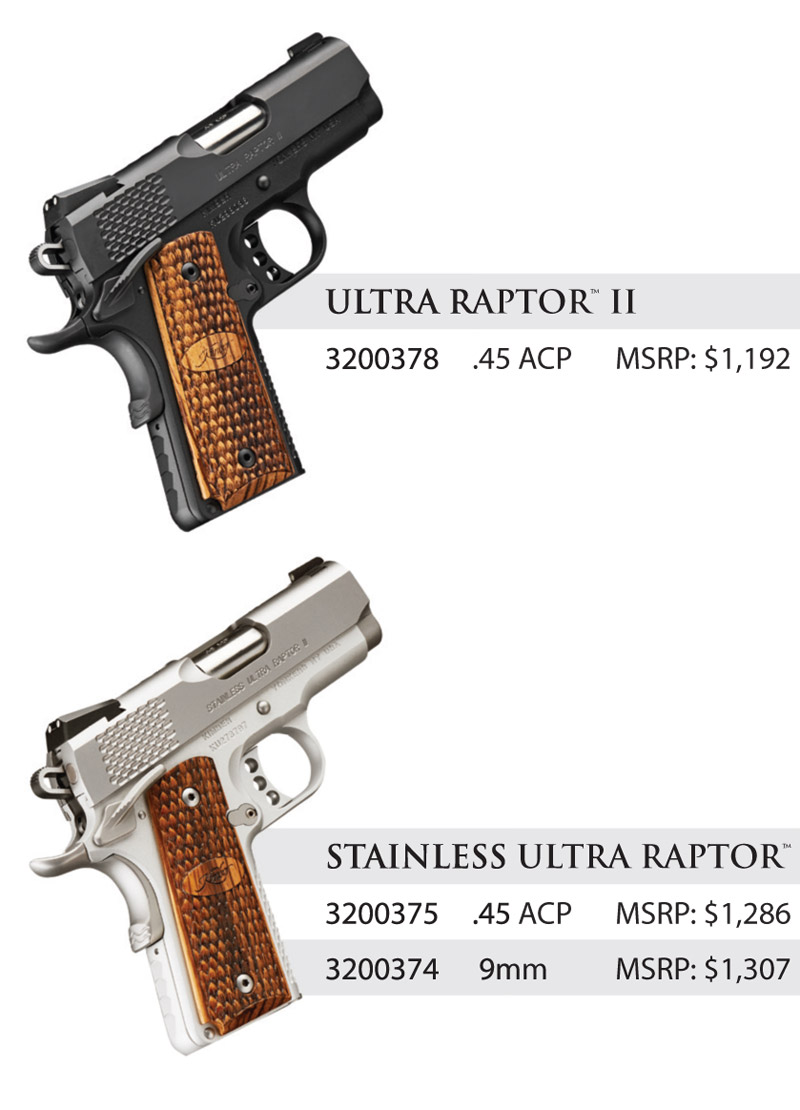 Kimber Ultra Raptor II 2017